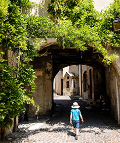 vieux Crest rue couverte