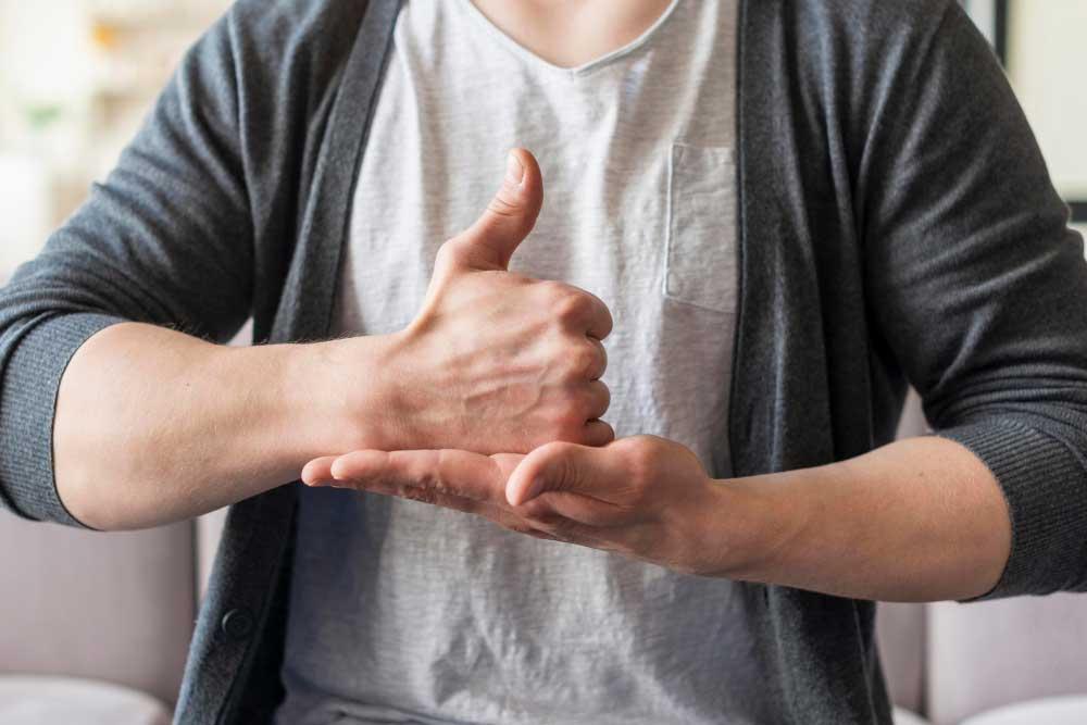 Présentation de la langue des signes française - UPVD