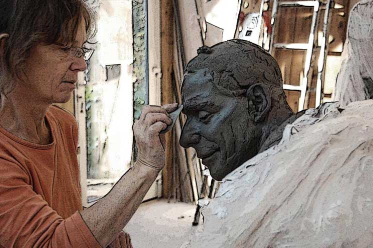 Annick Leroy - sculptrice