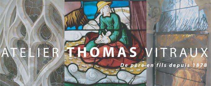 Vitraux à Valence - Famille Thomas - UPVD