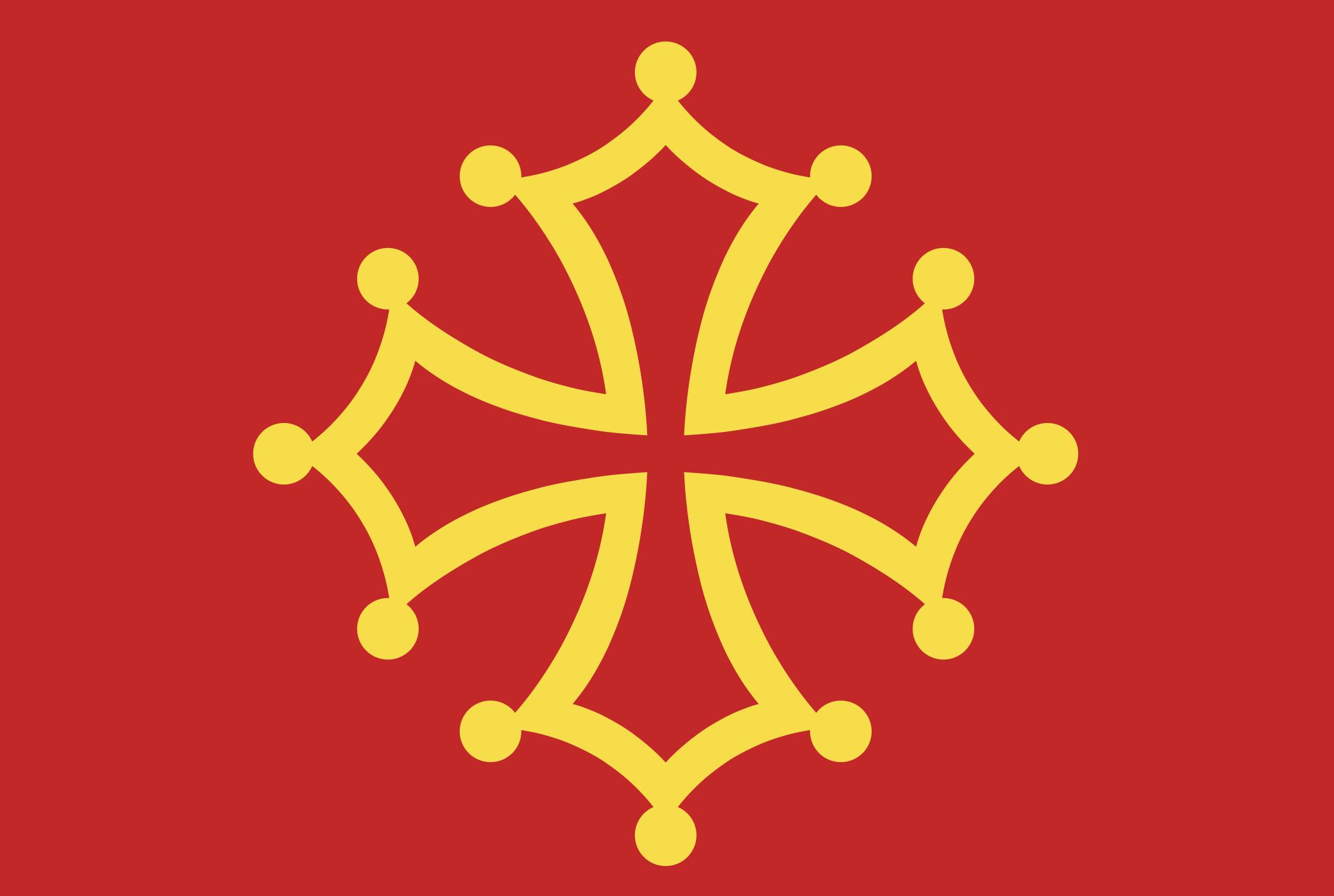 Drapeau de l'Occitane