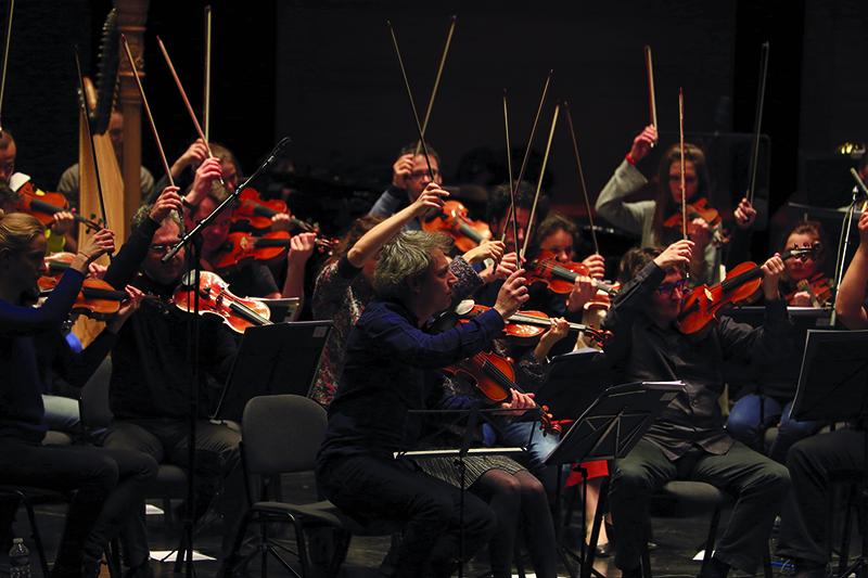 Orchestre Les Dissonances - jouer les instruments de l'orchestre - UPVD
