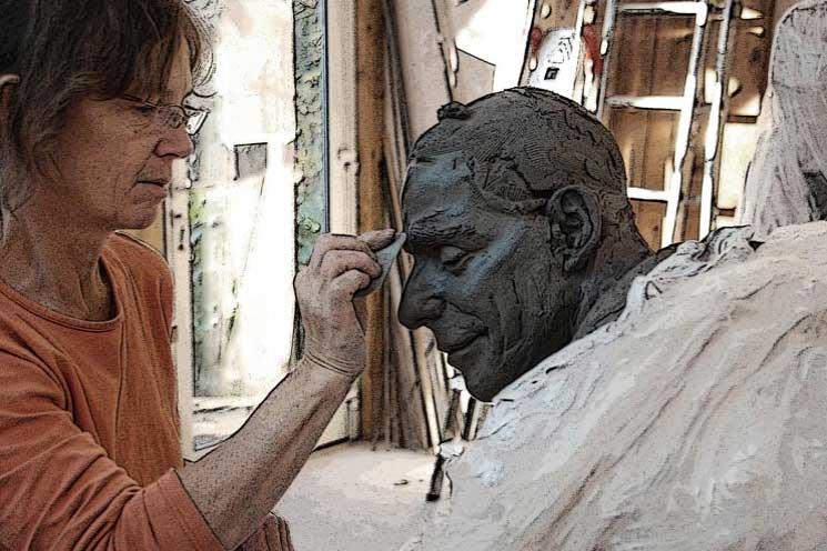 Atelier sculpteur Annick Leroy - UPVD
