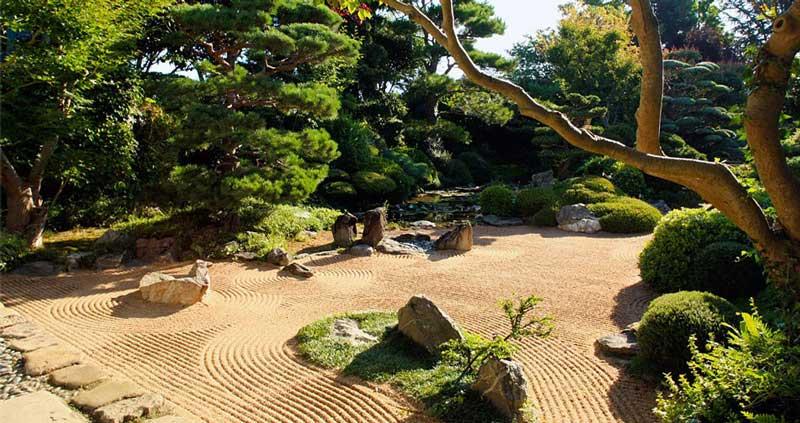 Jardin zen d'Erik Borja - UPVD