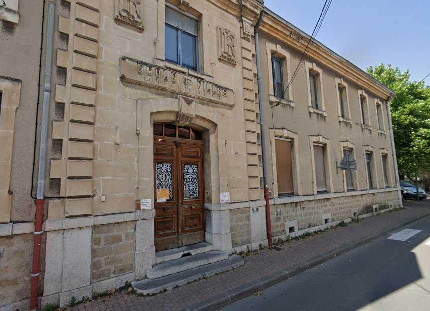 Local de l'UPVD - ancienne école Dumont - Crest