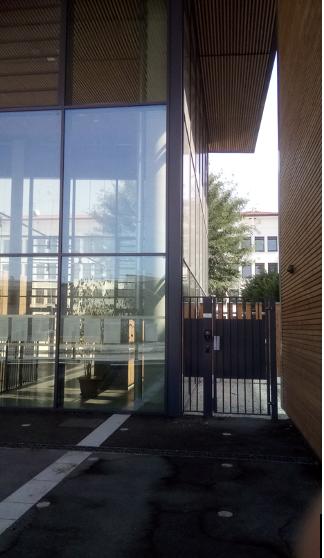 Photo de l'entrée pour l'UPVD  du lycée Armorin
